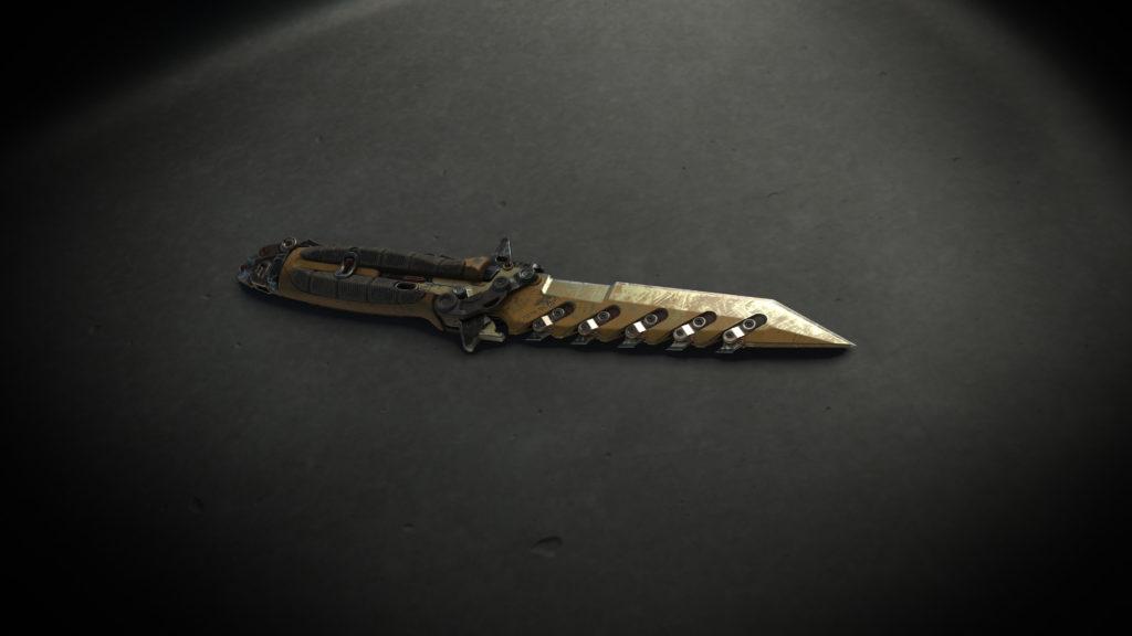 "Sawtooth ""Sirocco"" Combat Knife"