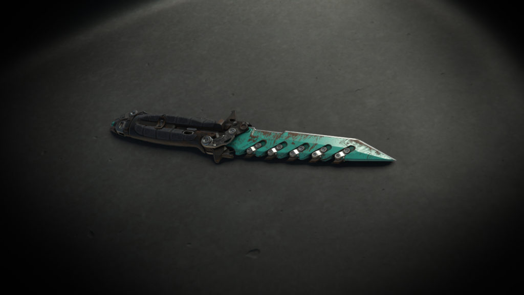 """Sawtooth """"Squall"""" Combat Knife"""