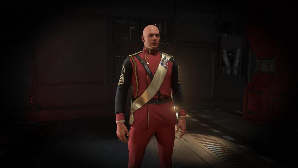 Second Tevarin War Red Dress-Uniform