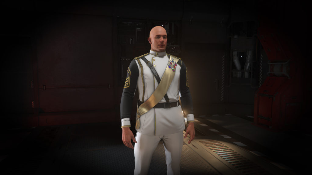 Second Tevarin War White Dress-Uniform