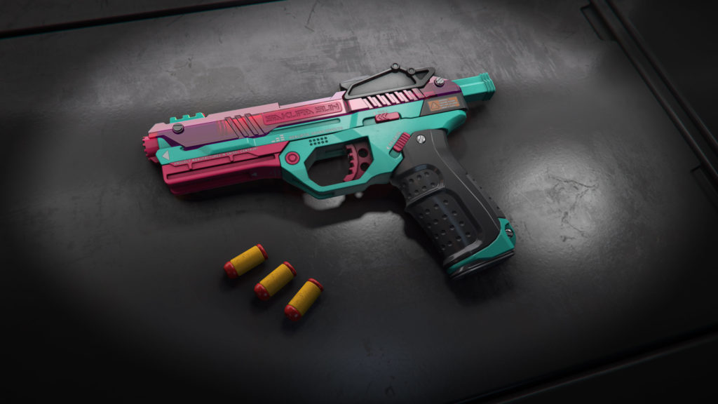 WowBlast Teal Desperado Toy Pistol