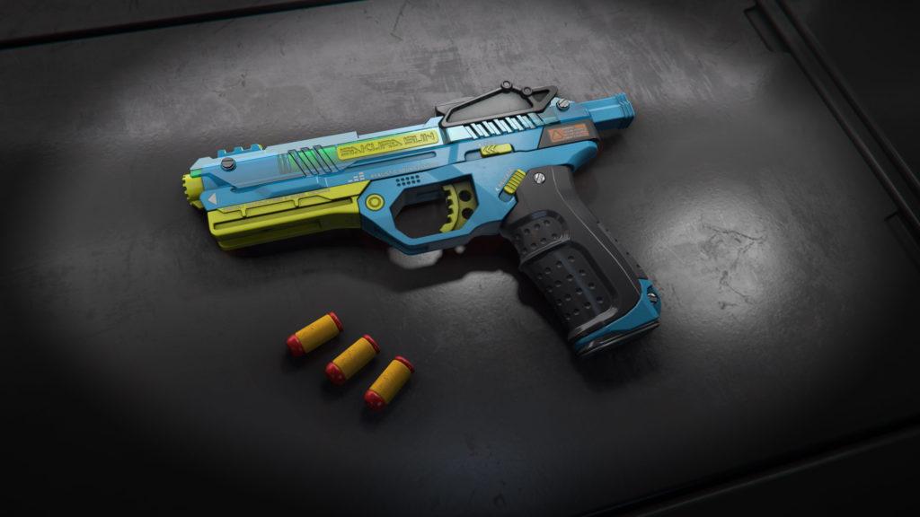 WowBlast Blue Desperado Toy Pistol