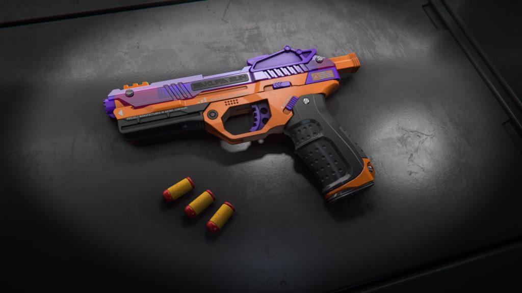 WowBlast Orange Desperado Toy Pistol
